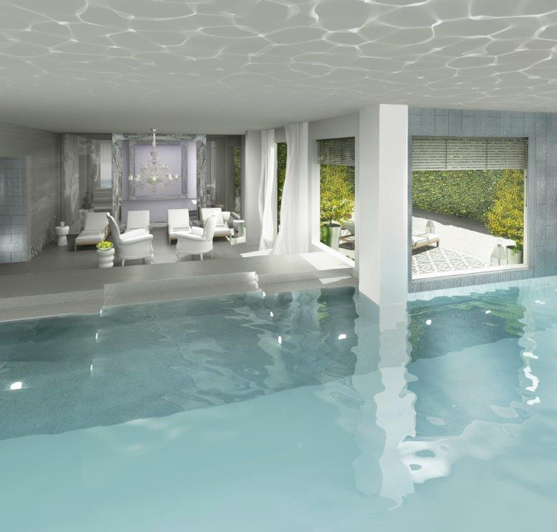 Indoor Pool of the Sapphire Spa