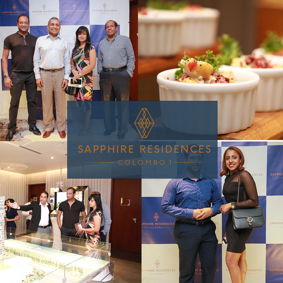 An image of a reception hosted at Sapphire Residences