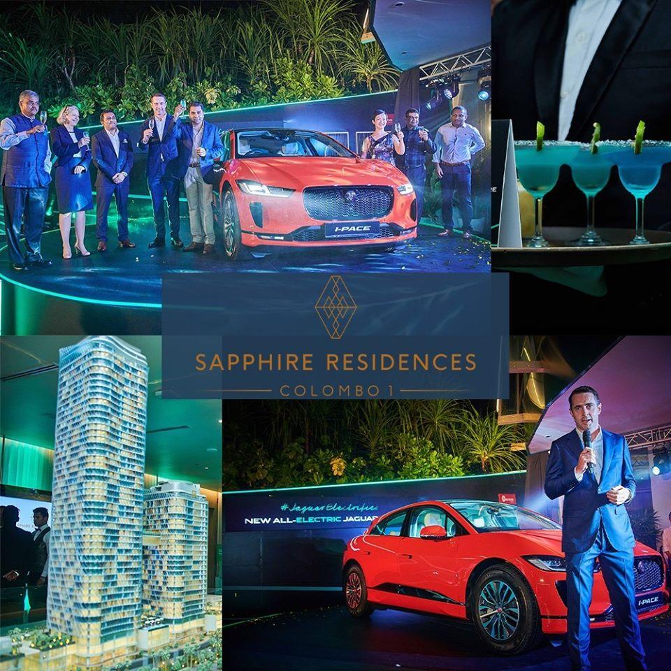 jaguar launch in sapphire