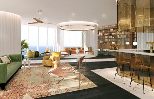 sapphire residence club lounge