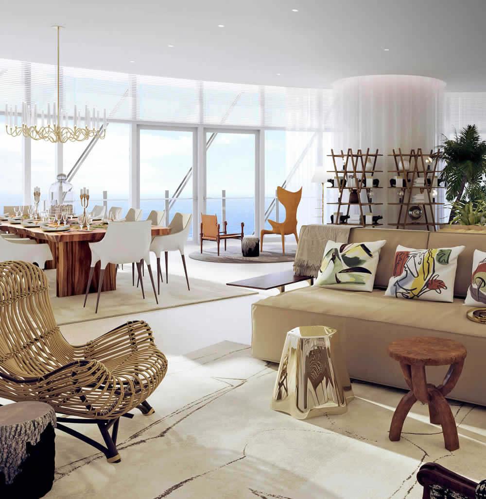 Image of the interior of a luxury real estate Sri Lanka