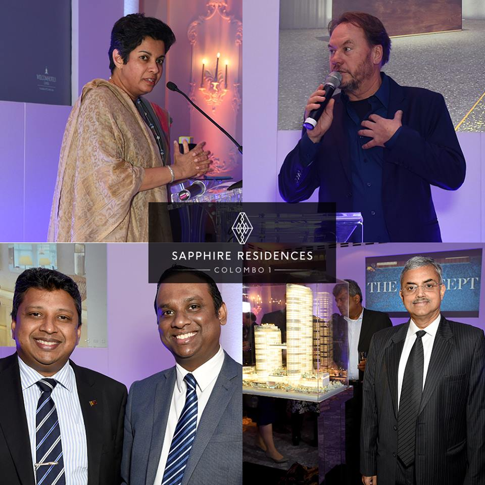 The global launch of Sapphire Residences