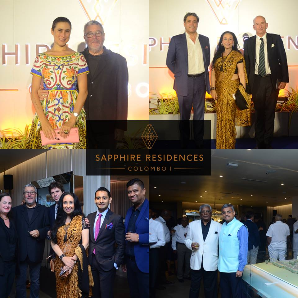 The launching of Sapphire Residences